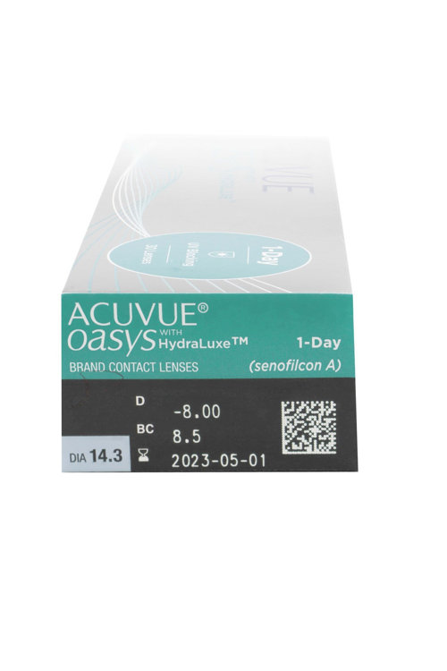 Picture of Acuvue 1 Day Oasys Hydraluxe contact lenses 30s