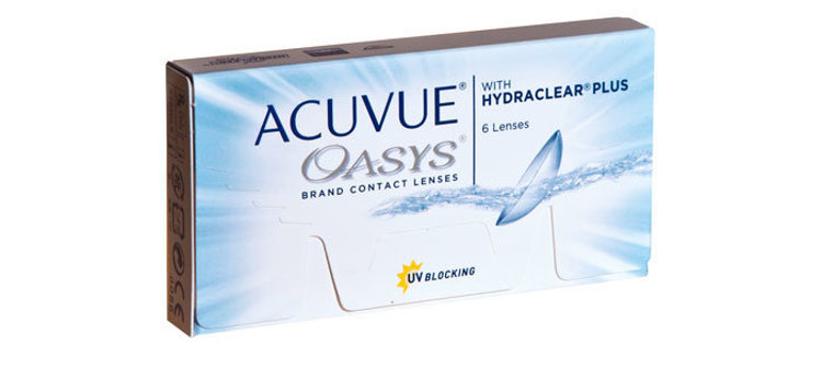 Picture of Acuvue Oasys with HydraClear (Pack of 6 Lenses)