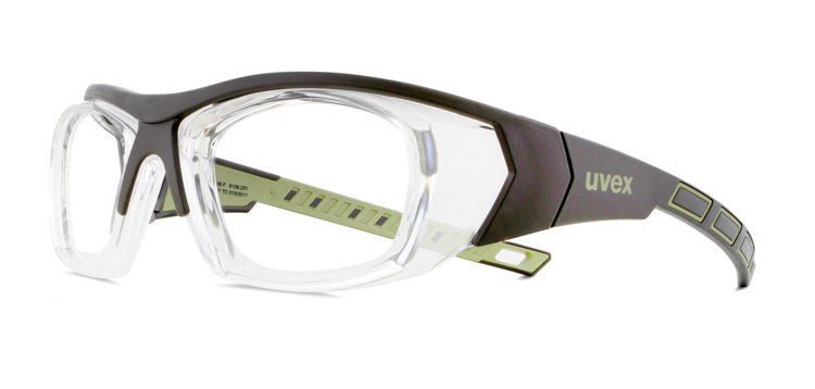 Picture of Uvex 6109231 Safety Frame Brown Olive